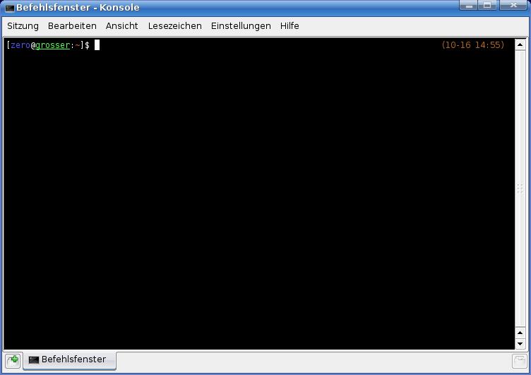 Linux Konsole