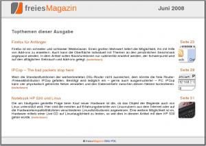 freiesmagazin Juni 2008